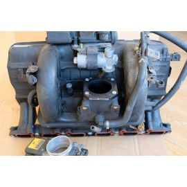 BMW E46 323i/328i M54 manifold conversion adapter plate from 330i for M52 TU throttle body