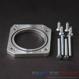 BMW M54B25 manifold conversion adapter plate for M52TU throttle